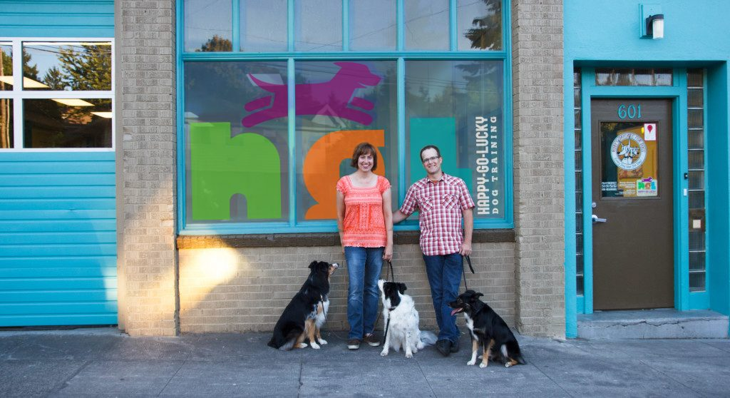 happy go lucky training center for  dog training in Portland