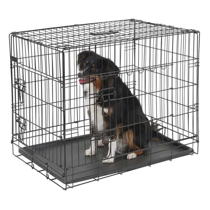 how long should a puppy be in a crate