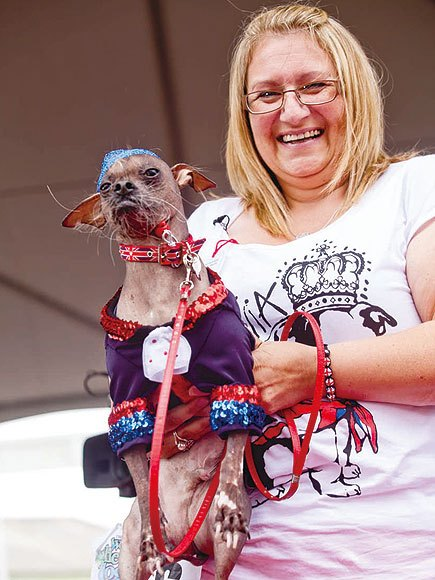 Mugly. The World's Ugliest Dog Competition