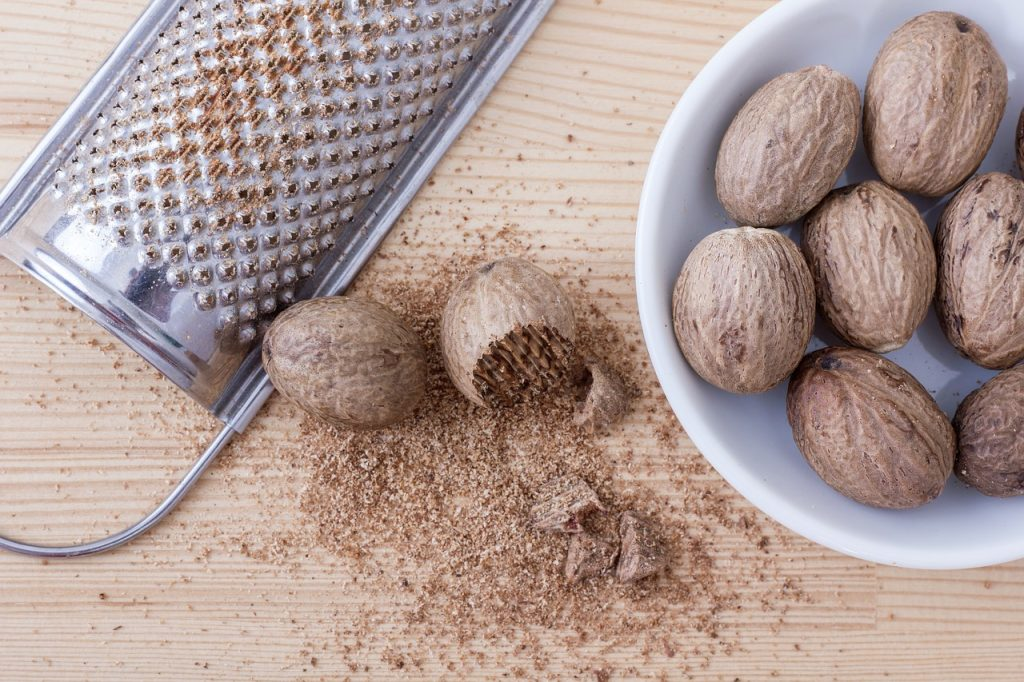 Nutmeg is from Foods not to feed dogs ever list