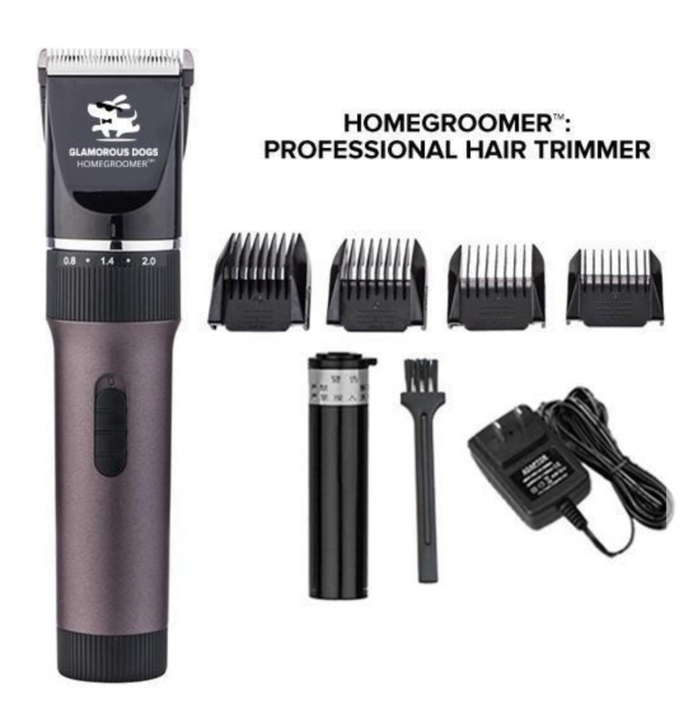 The HOMEGROOMER™: Professional Pet Grooming Kit!