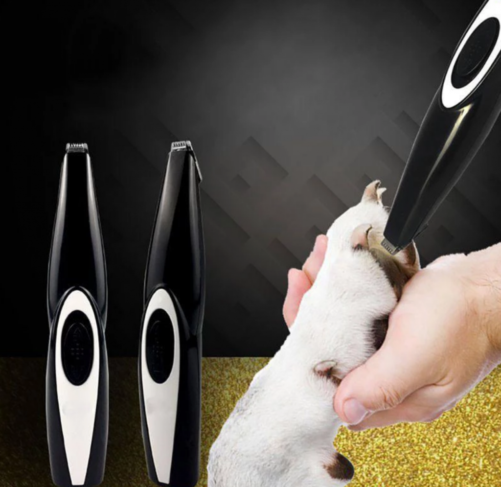 POWERTRIM: A face and paw hair trimmer for pets