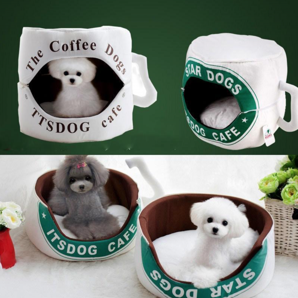 Coffee Cup Dog Bed