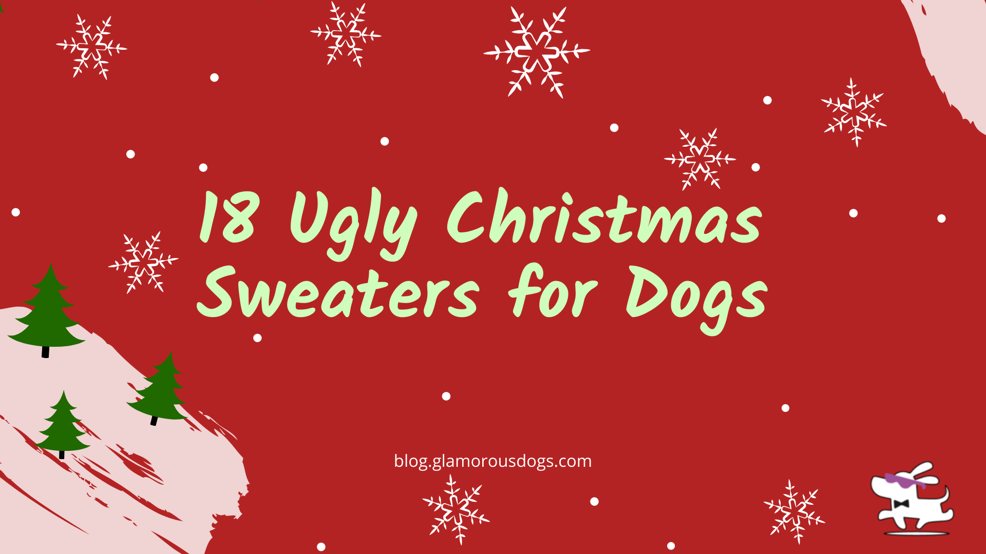 18 Ugly Christmas Sweaters for Dogs