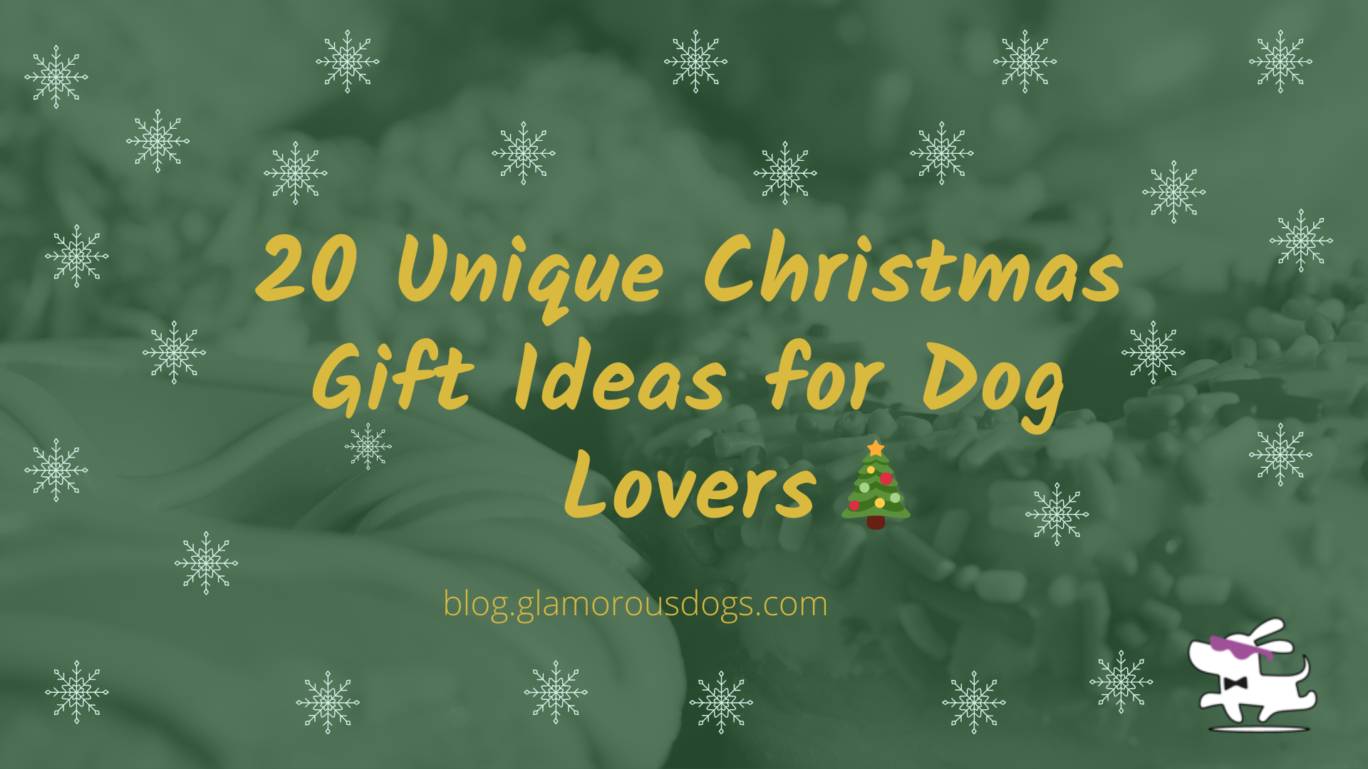 20 Unique Christmas Gift Ideas for Dog Lovers
