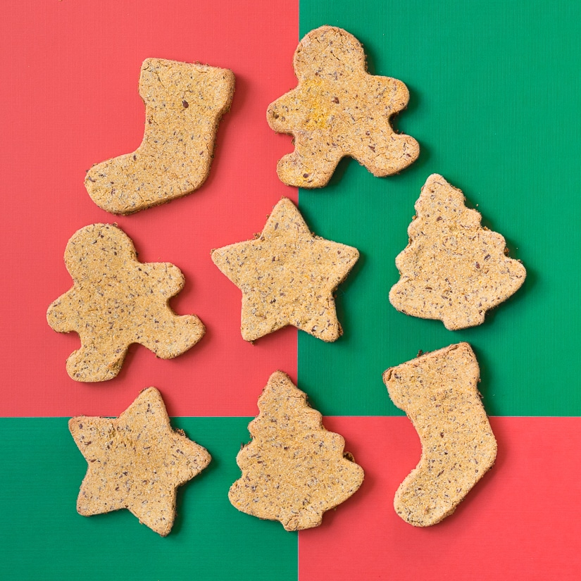 Simple Christmas Cookies for Dogs