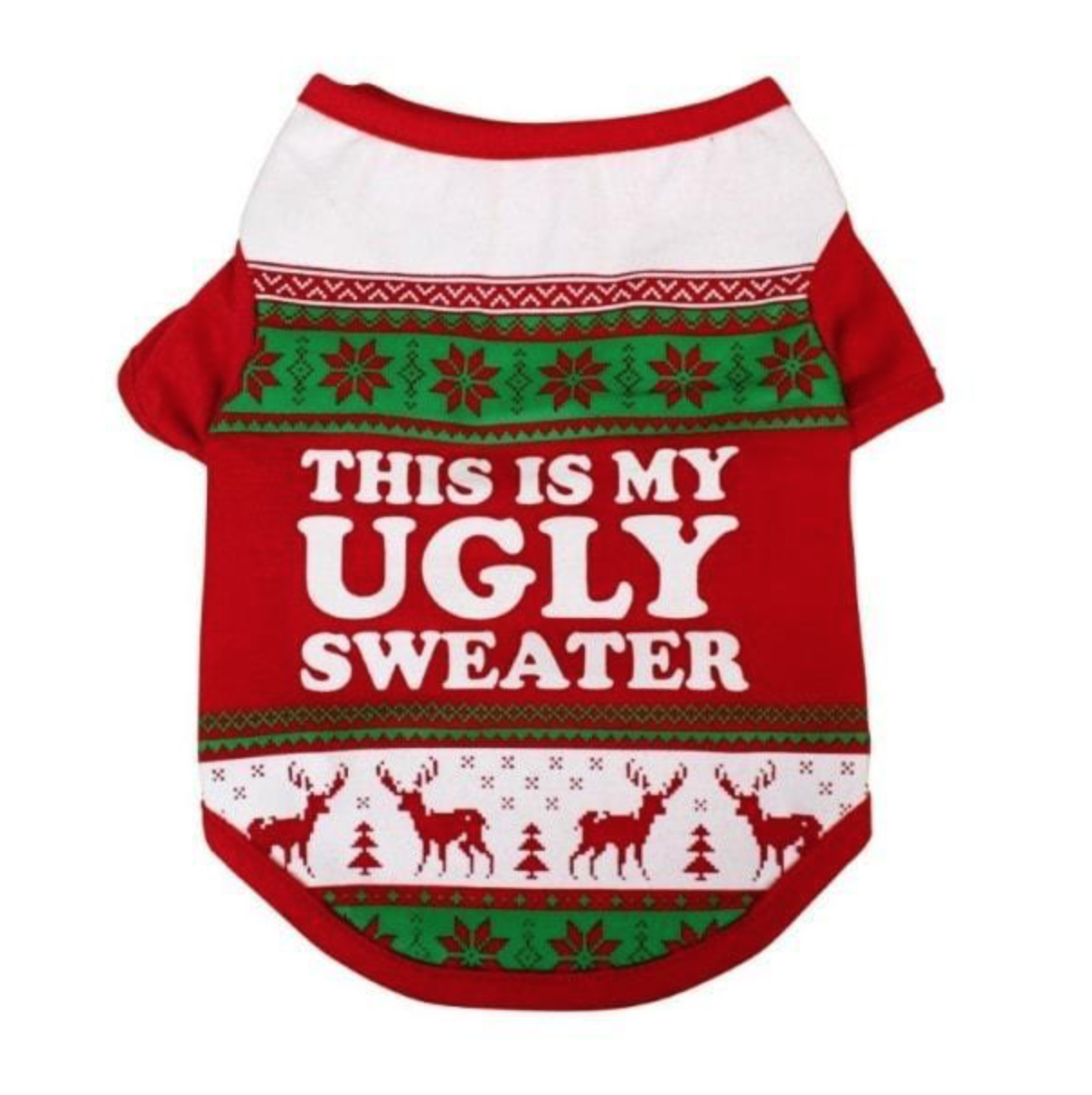 Ugly Christmas Sweaters for Dogs- The Cute Christmas Pet Sweater with A Humorous Touch