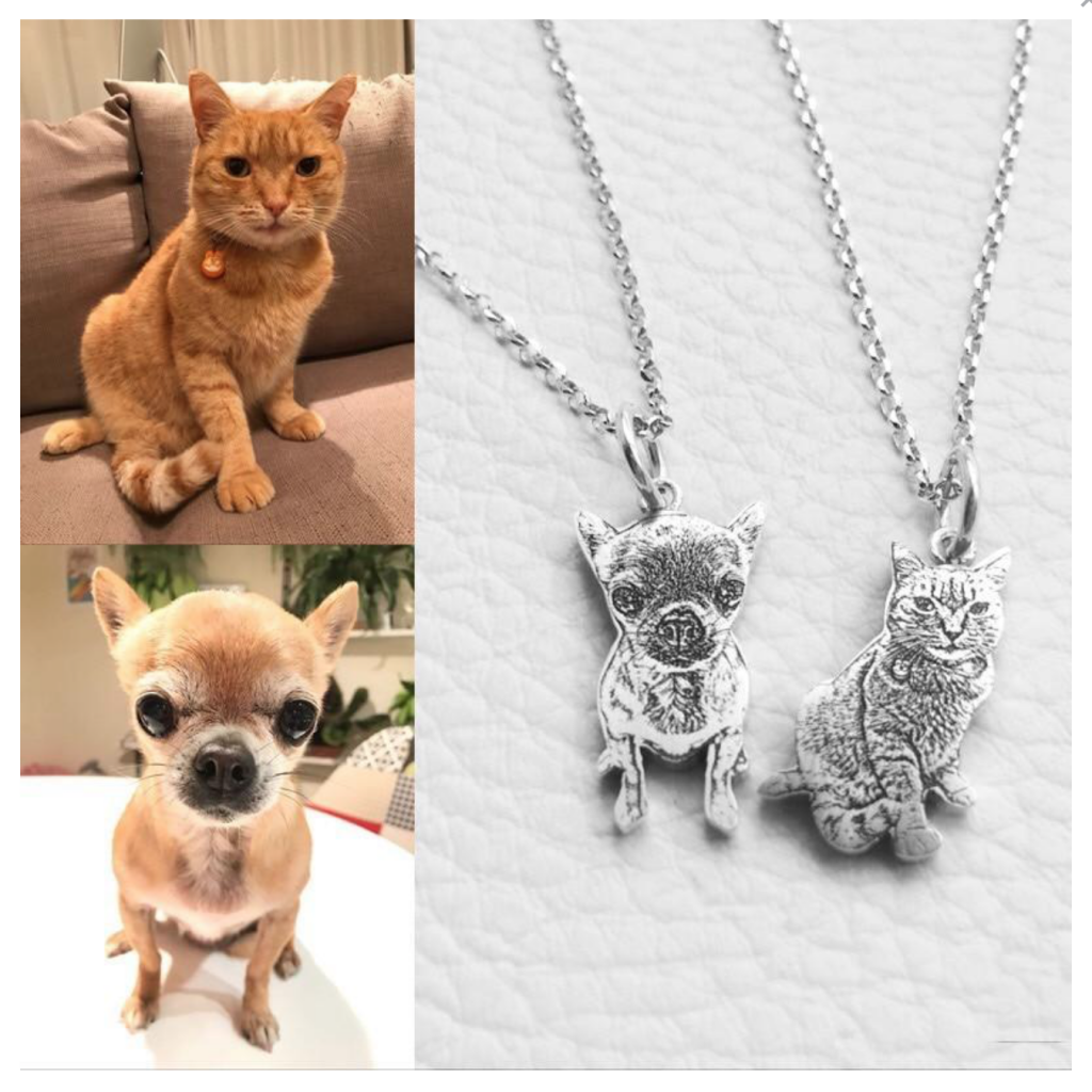 Gift no. one: BETTERJEWELERY™- The customized photo necklace sterling