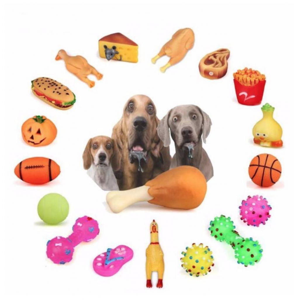 Squeaky Chewing dog Toys