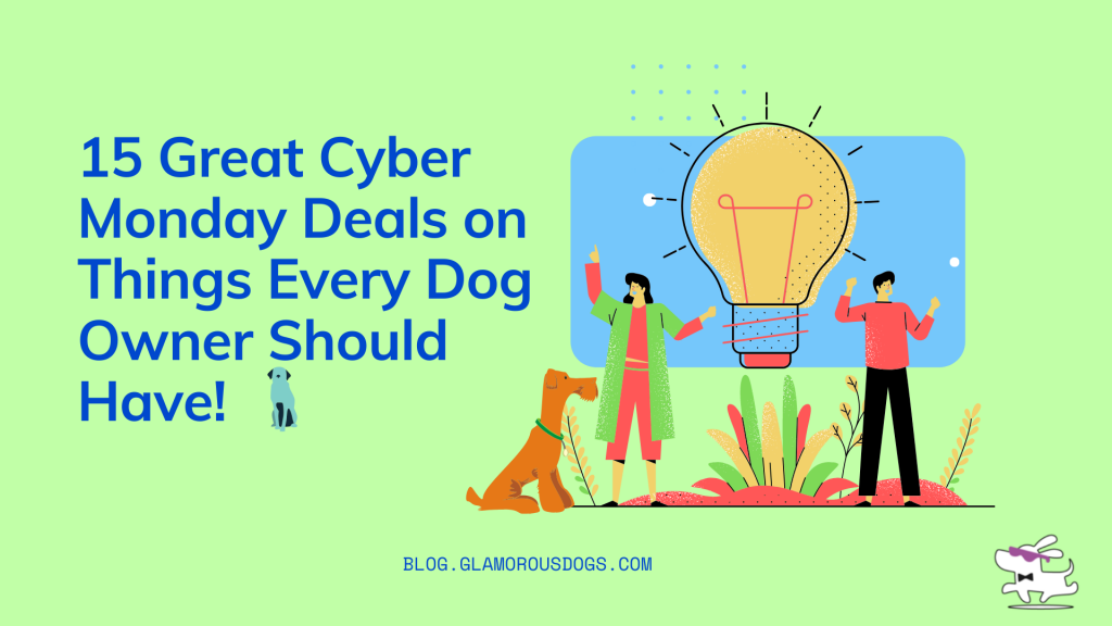 15 Great Cyber Monday Deals on Things Every Dog Owner Should Have!  