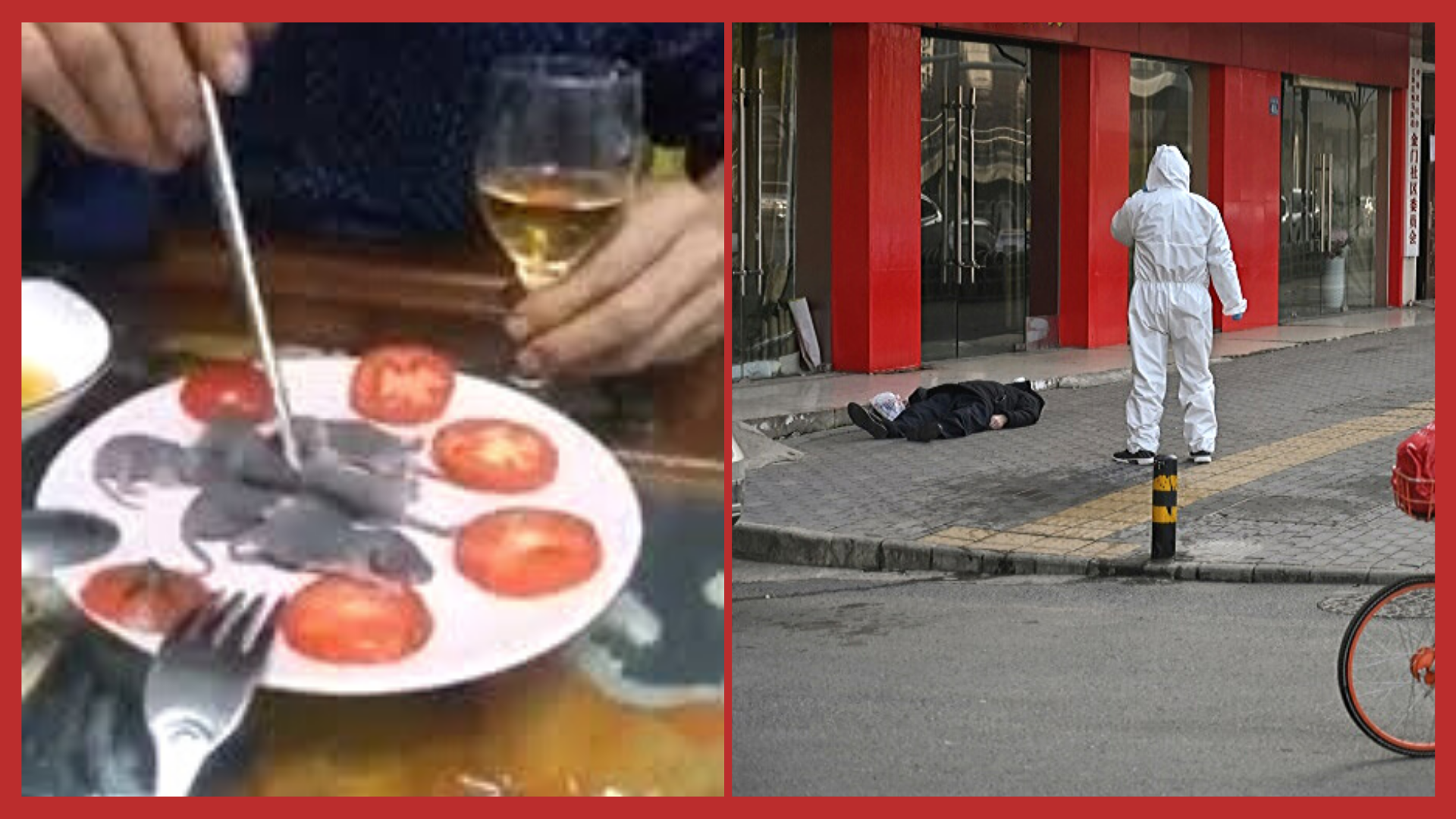 A Man Calmly Dips Live Rats in a Sauce and Eats it Amidst the Global Pandemic!
