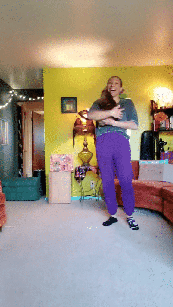 Watch Now: A Cat Decides to Give Her Mother a Big Hug When She Was Giving a Remote Dance Lesson! |