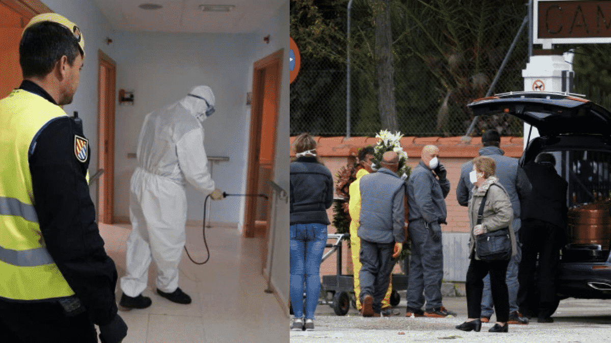 Spanish Army Finds Dead Seniors in Care Homes During Coronavirus Pandemic  