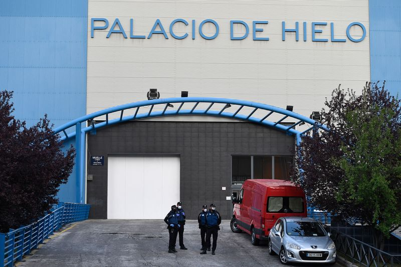 Spain Has Turned Madrid's Olympic-sized Ice Rink into a Makeshift Morgue After 500 People Died Overnight! |