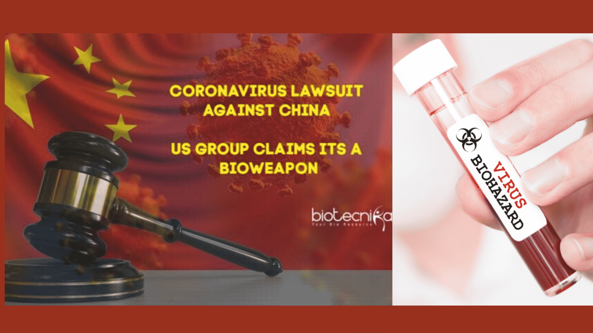 US Lawyer Filed a $20 Trillion Lawsuit Against China For Creating the COVID-19 Bioweapon!
