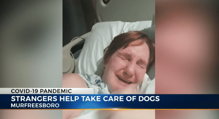 Coronavirus Patient Makes A Heartfelt Appeal and Receives A National Response From Animal Lovers to Help Her Dogs |