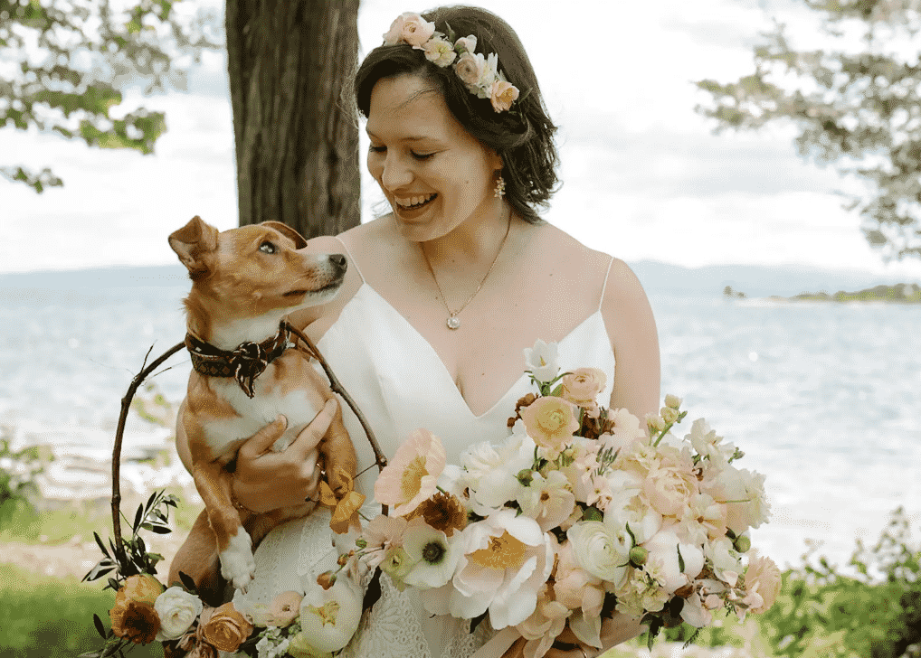 Couple Let Their Dog Film Their Wedding, And The Results Are Utterly Stunning  