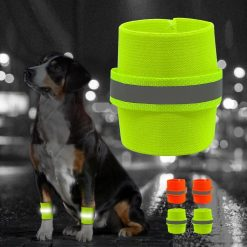 2pcs Reflective Wrist Band For Dog Stunning Pets
