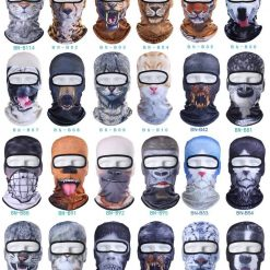 3D Cat / Dog / Animal Full Face Mask Stunning Pets