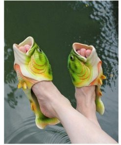 3D Stylish Printed Fish Flippers for the Summer Cat Lovers ROI test Stunning Pets