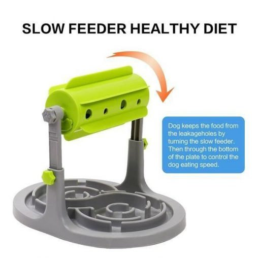 3 in1 Slow Feeder Dog Bowl Slow Feeder GlamorousDogs