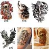 4pcs Temporary Waterproof Men's Tattoo Stunning Pets