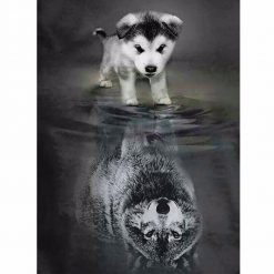 5D Diamond Painting Pet Pattern Collection | Free Shipping July Test GlamorousDogs 20*27 Style 1