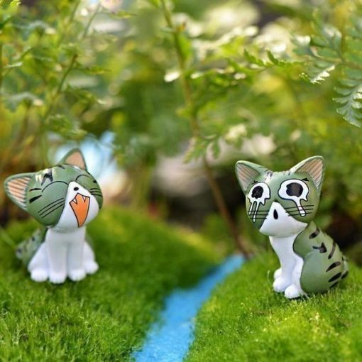 8pc Cats Miniature Decoration Stunning Pets
