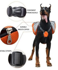 Adjustable Saddle Bag for Dogs GlamorousDogs