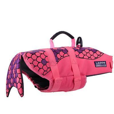 Amazing Dog Life Jacket Stunning Pets purple L