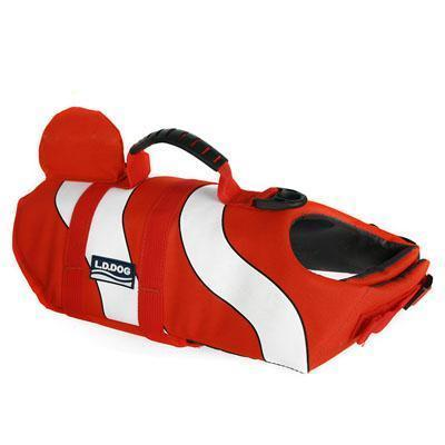 Amazing Dog Life Jacket Stunning Pets red L