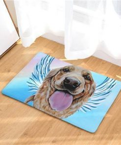 Angel Dog Door Mat | Best Gift for Dog Lovers Dog doormat Stunning Pets 10 20in x 31in