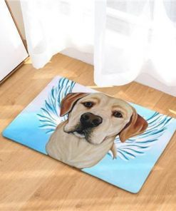 Angel Dog Door Mat | Best Gift for Dog Lovers Dog doormat Stunning Pets 11 20in x 31in