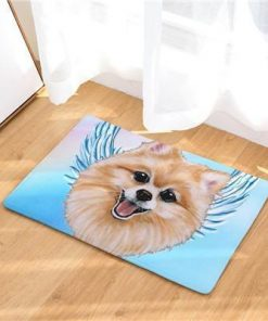 Angel Dog Door Mat | Best Gift for Dog Lovers Dog doormat Stunning Pets 1 20in x 31in