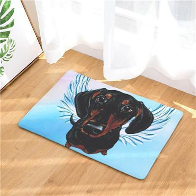 Angel Dog Door Mat | Best Gift for Dog Lovers Dog doormat Stunning Pets 12 20in x 31in
