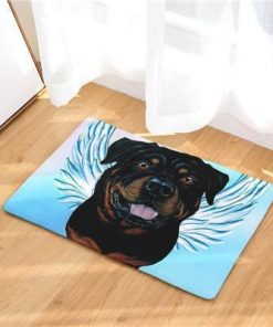 Angel Dog Door Mat | Best Gift for Dog Lovers Dog doormat Stunning Pets 14 20in x 31in
