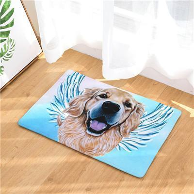 Angel Dog Door Mat | Best Gift for Dog Lovers Dog doormat Stunning Pets 15 20in x 31in