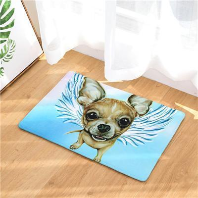 Angel Dog Door Mat | Best Gift for Dog Lovers Dog doormat Stunning Pets 16 20in x 31in
