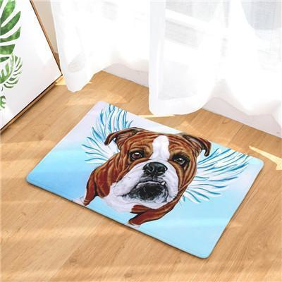 Angel Dog Door Mat | Best Gift for Dog Lovers Dog doormat Stunning Pets 17 20in x 31in