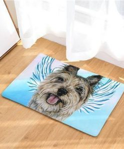 Angel Dog Door Mat | Best Gift for Dog Lovers Dog doormat Stunning Pets 18 20in x 31in