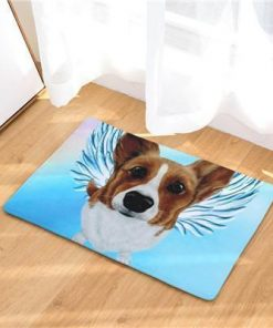 Angel Dog Door Mat | Best Gift for Dog Lovers Dog doormat Stunning Pets 2 20in x 31in