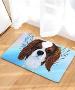 Angel Dog Door Mat | Best Gift for Dog Lovers Dog doormat Stunning Pets 3 20in x 31in
