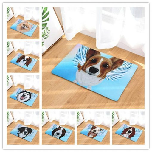 Angel Dog Door Mat | Best Gift for Dog Lovers Dog doormat Stunning Pets