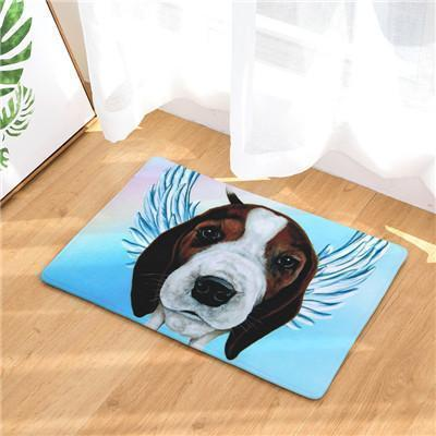 Angel Dog Door Mat | Best Gift for Dog Lovers Dog doormat Stunning Pets 6 20in x 31in