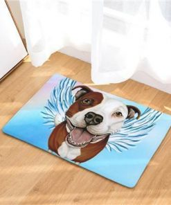 Angel Dog Door Mat | Best Gift for Dog Lovers Dog doormat Stunning Pets 7 20in x 31in