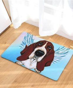 Angel Dog Door Mat | Best Gift for Dog Lovers Dog doormat Stunning Pets 8 20in x 31in