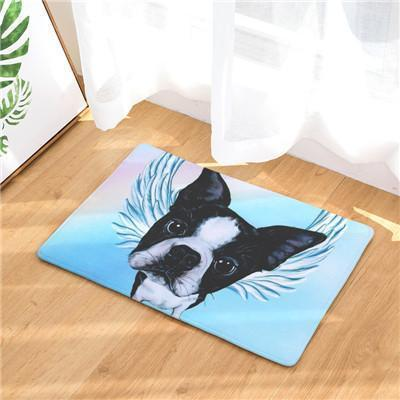 Angel Dog Door Mat | Best Gift for Dog Lovers Dog doormat Stunning Pets 9 20in x 31in