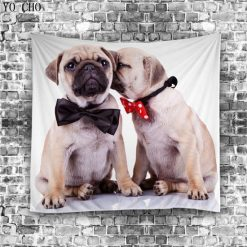 Animals Lovers Cool tapestry Home accessories Stunning Pets Type 3 150cm L 130cm W