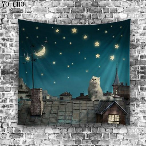 Animals Lovers Cool tapestry Home accessories Stunning Pets Type 4 150cm L 130cm W