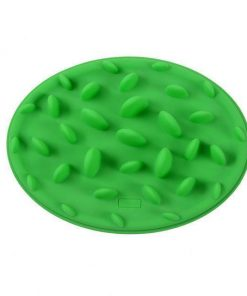 Anti Choke Pet Dog Bowl Stunning Pets Green 24x18x3CM